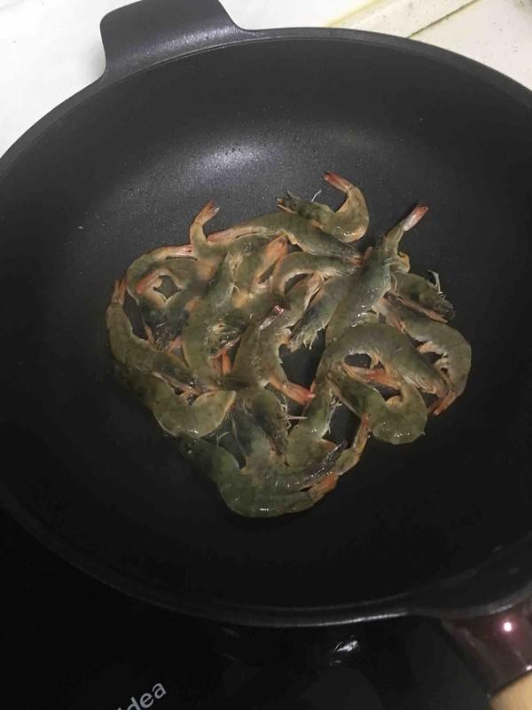 茄汁焖虾--夏天的开胃菜的做法图解