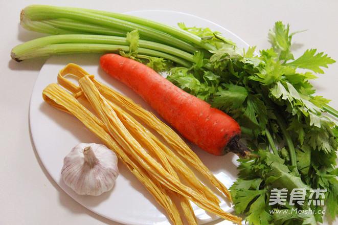 凉拌芹菜腐竹的做法大全