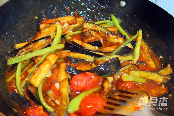 西红柿烧茄子怎样炒