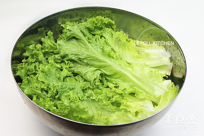 油淋生菜的做法图解