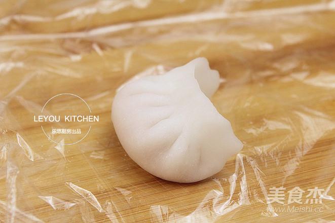 水晶虾饺的步骤