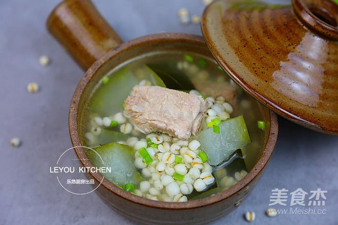 冬瓜薏米排骨汤怎么吃