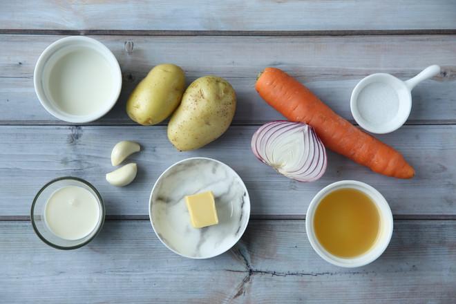 Vitamix版胡萝卜土豆浓汤的做法大全