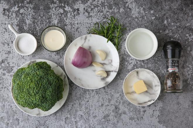 西蓝花浓汤-Vitamix版的做法大全