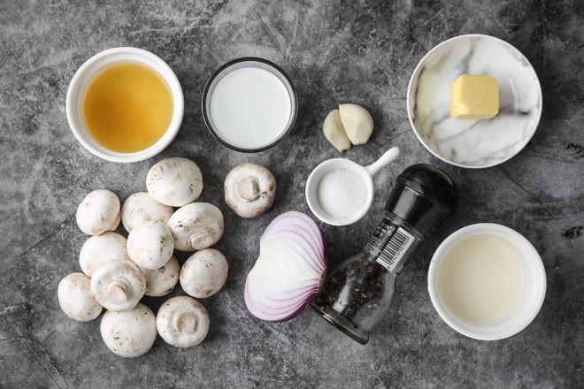 奶油蘑菇浓汤-Vitamix版的做法大全
