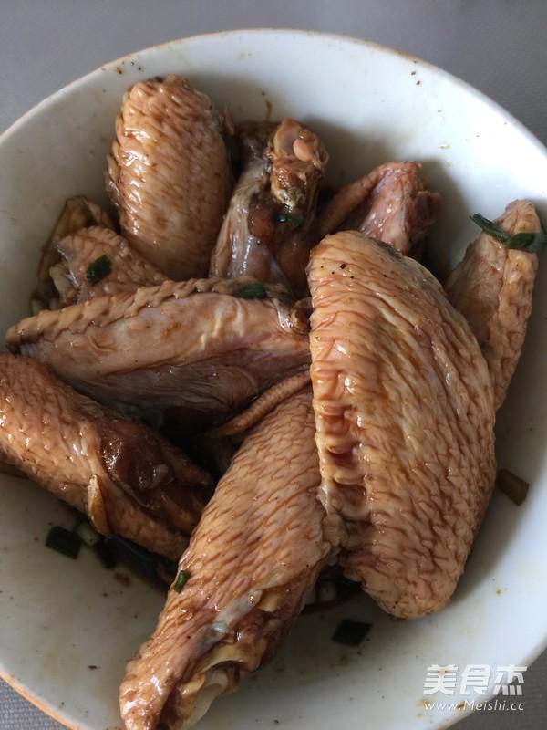 葱香烤鸡翅的做法图解
