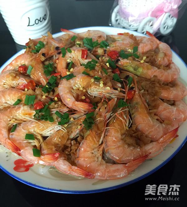 蒜蓉粉丝虾怎么煸