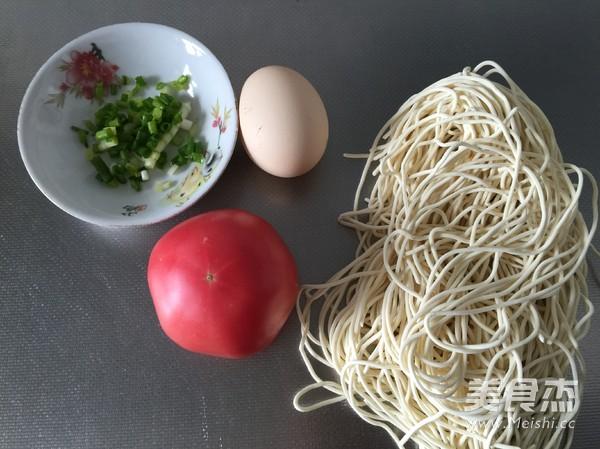 番茄鸡蛋面的做法大全