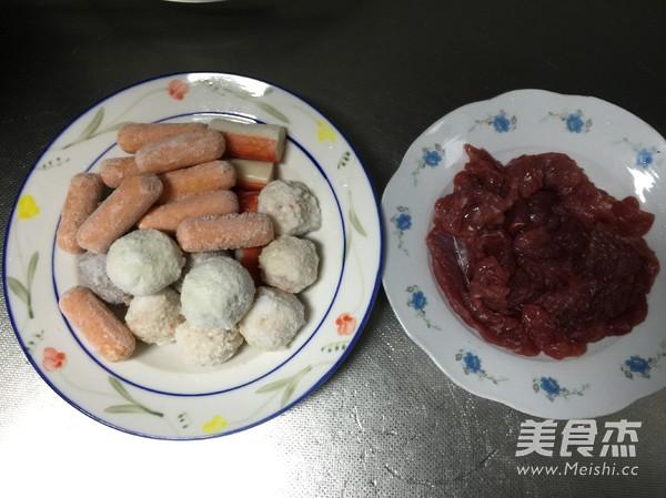 浓汤菌菇火锅怎么吃