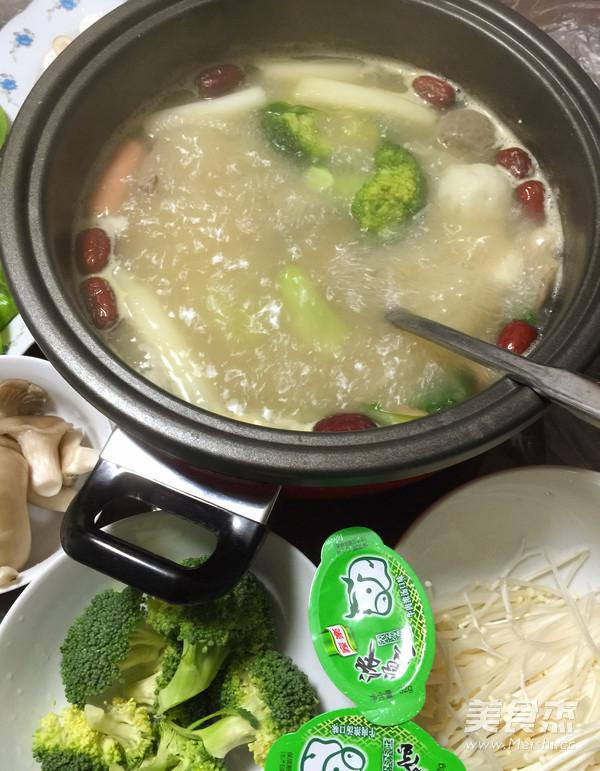 浓汤菌菇火锅怎么炒