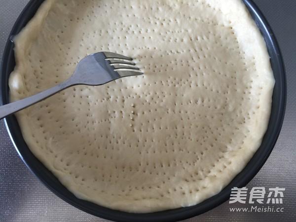 菌菇香肠披萨怎么炒