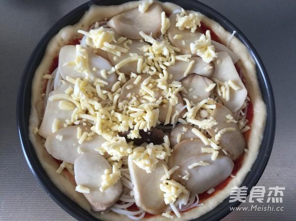 菌菇香肠披萨怎么炖