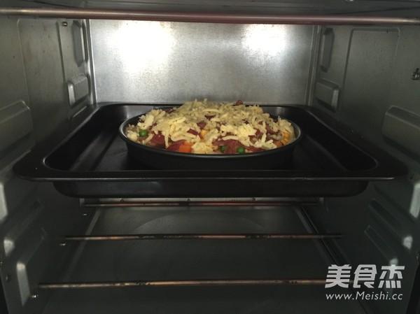 菌菇香肠披萨怎样煸