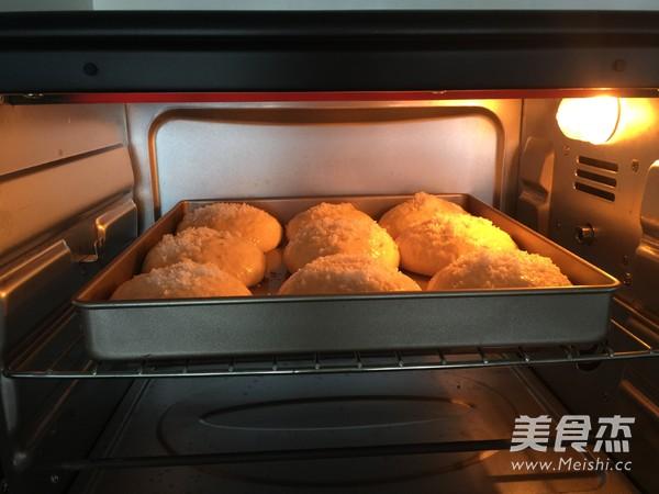 中种椰丝豆沙面包怎么炒