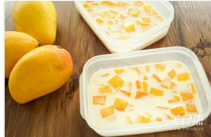 芒果牛奶奶冻的家常做法