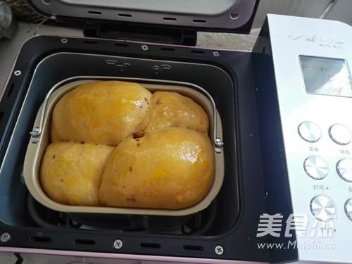 枣香黑糖吐司的制作方法