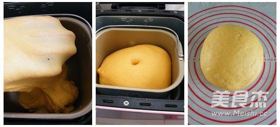南瓜小面包的做法图解