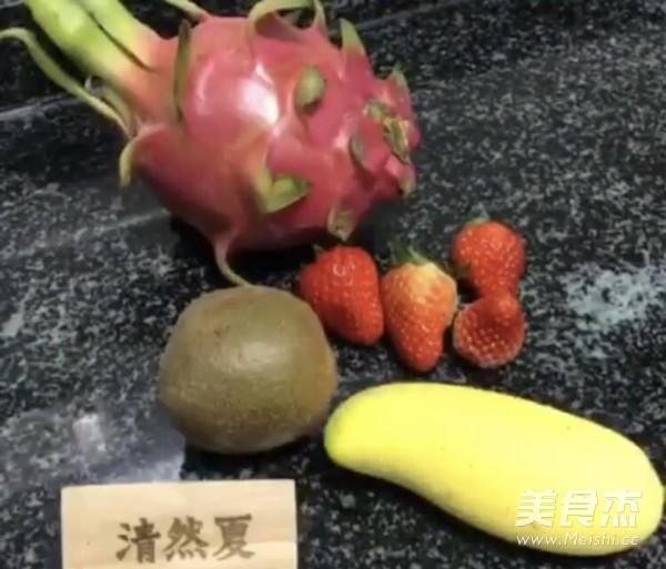 新鲜水果碗的做法大全