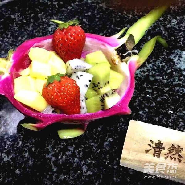新鲜水果碗的简单做法