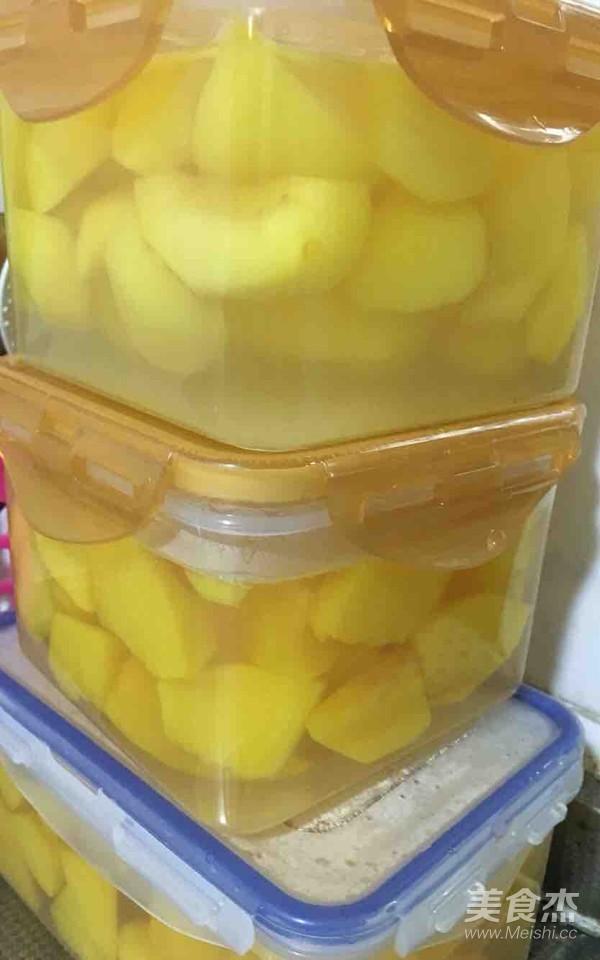 黄桃罐头怎么吃