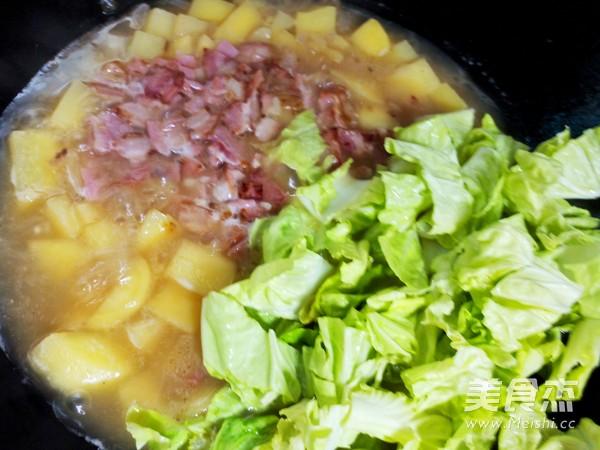 土豆焖饭怎样煸