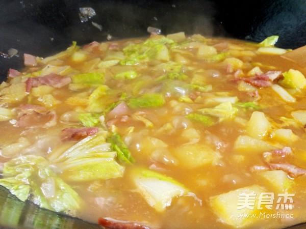 土豆焖饭怎样炒