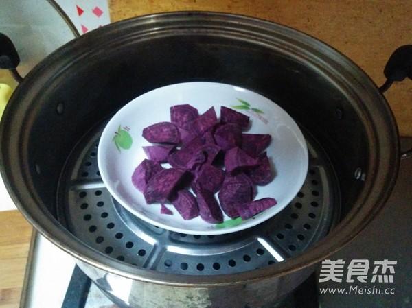 紫薯南瓜饼的做法大全