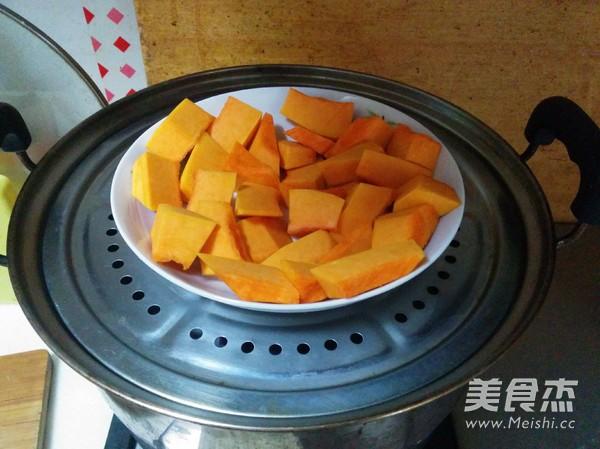 紫薯南瓜饼的做法图解
