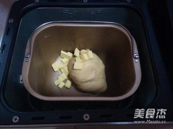 蜜豆面包卷的做法图解
