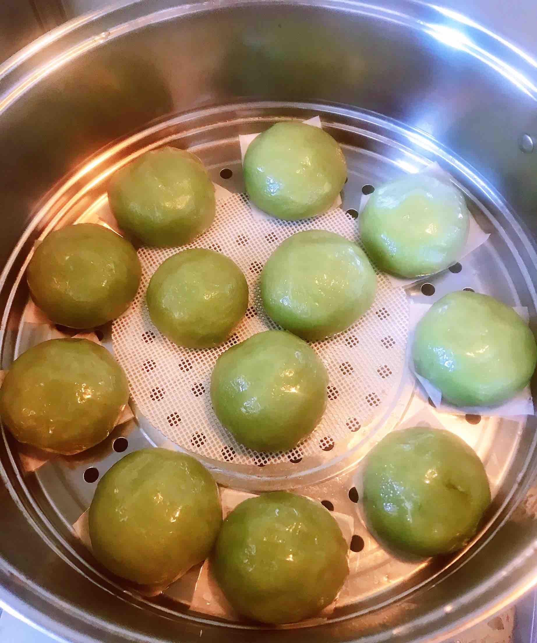 清新爽口带着春的气息的素食笋丁豆腐青团怎样煮