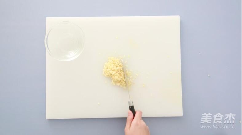 蒜蓉粉丝蒸娃娃菜的做法图解