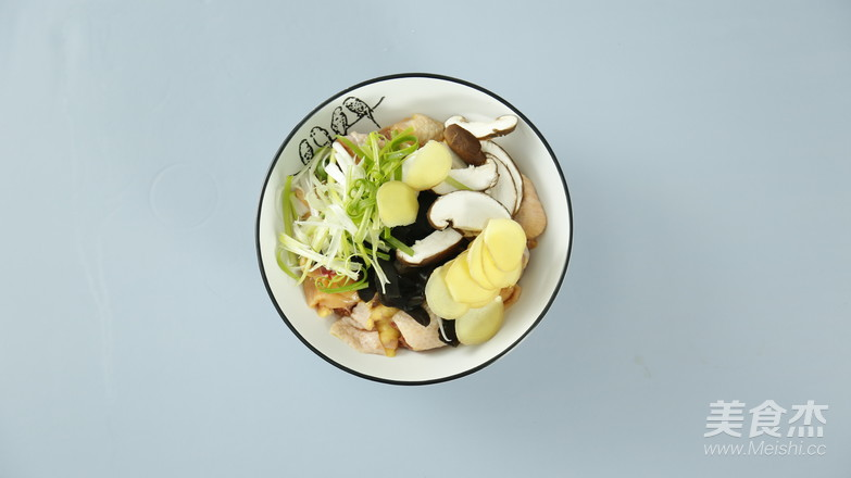香菇蒸鸡的做法图解