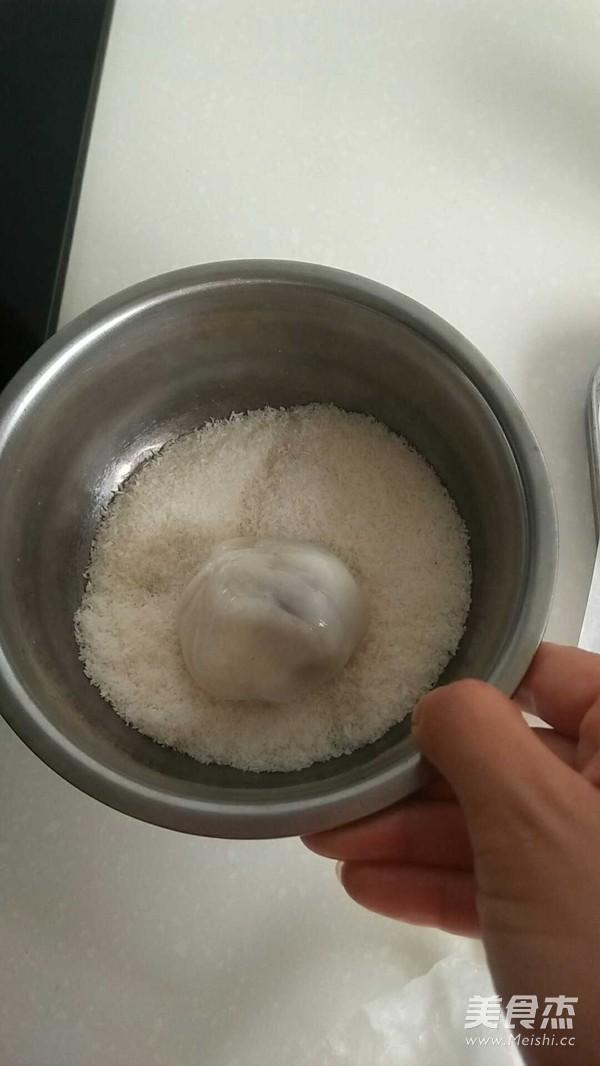 糯米粉的用处--豆沙糯米糍怎么做