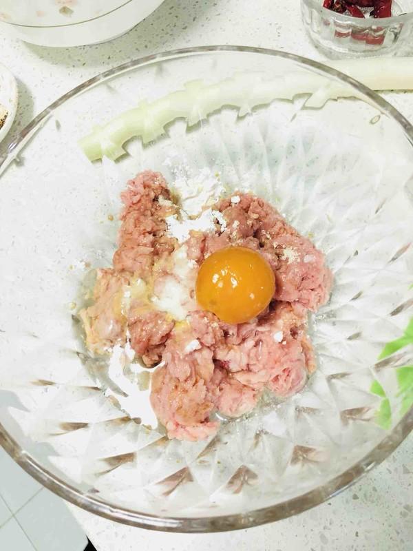 早餐-鲜肉咸蛋黄小馄炖的家常做法