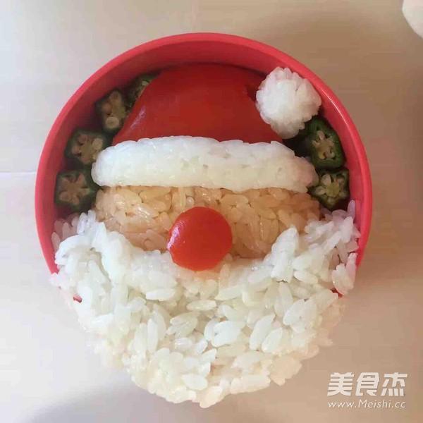 圣诞老人便当怎么做