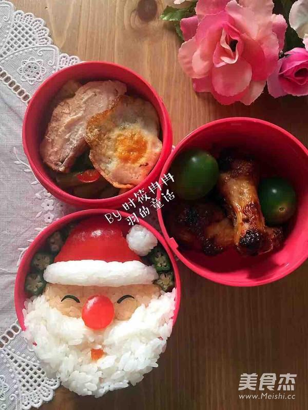 圣诞老人便当怎么煮