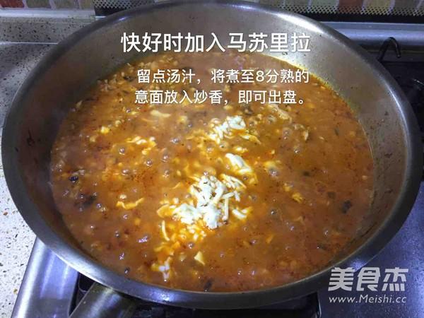 家庭版汤汁浓郁的意大利面怎么炒