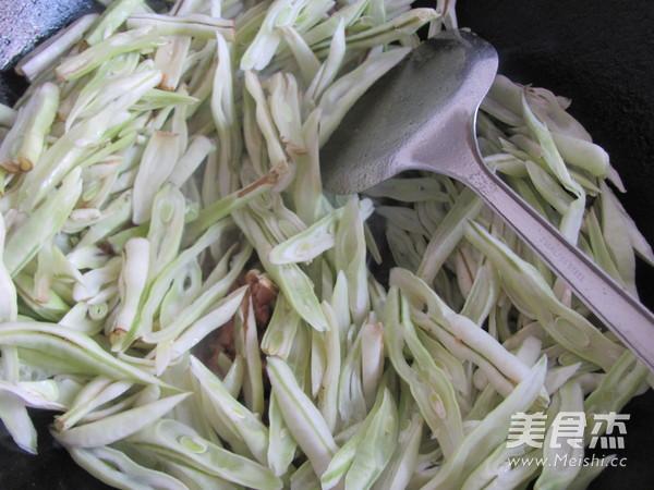 小炒芸豆怎么做