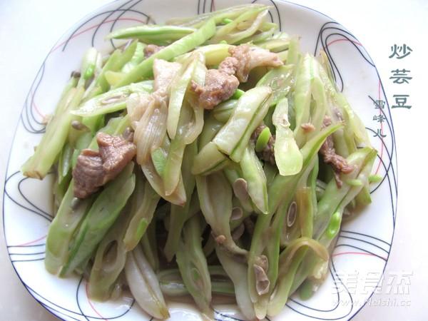 小炒芸豆怎么煮