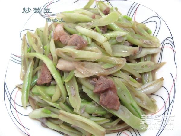 小炒芸豆成品图