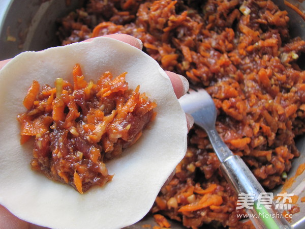 胡萝卜羊肉饺子怎样煸