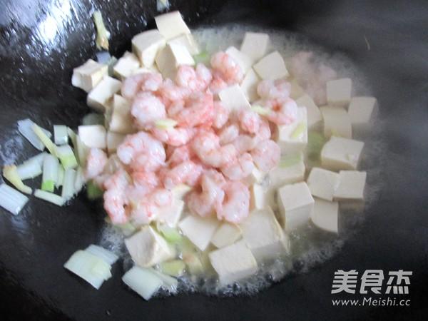 虾仁豆腐怎么煸