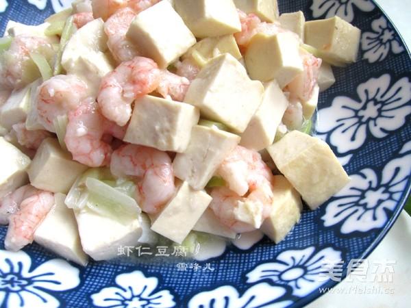 虾仁豆腐怎样煸