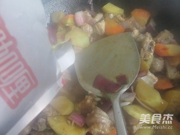 排骨咖喱米饭怎么煮