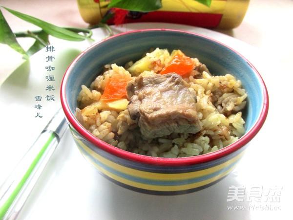 排骨咖喱米饭怎样煸