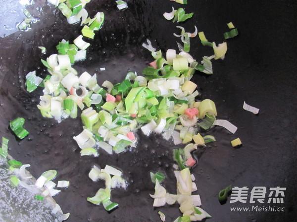 火腿炒米饭的简单做法