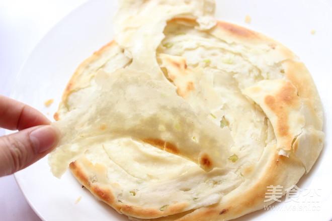 葱油饼成品图