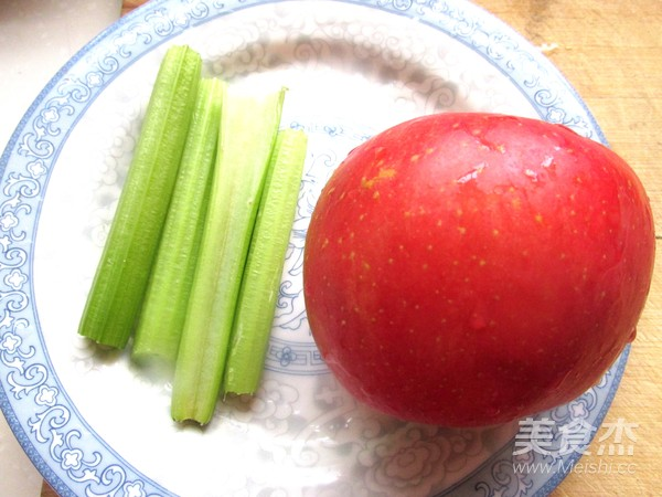 苹果芹菜汁的做法图解