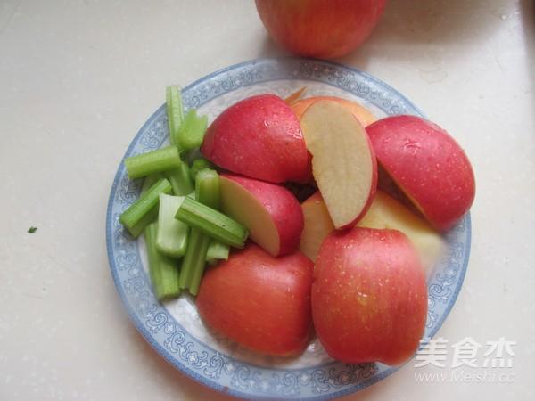 苹果芹菜汁的家常做法