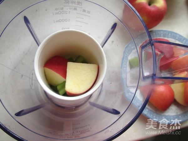 苹果芹菜汁的简单做法